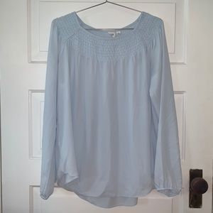 Gap Baby Blue Blouse